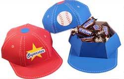 baseball Party Theme favor box