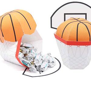 Basketball Favor box