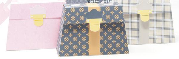 Louis Vuitton party theme favors