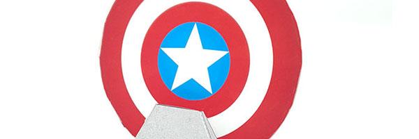 Captain America paper craft