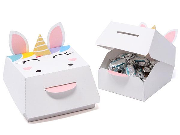 Unicorn  party favor box