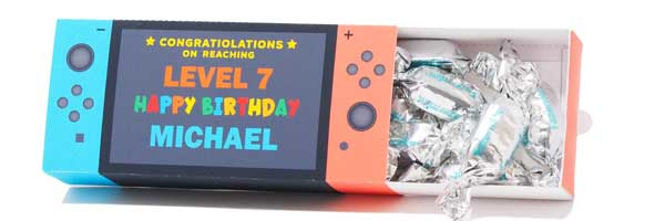 Nintendo Switch Favor Box